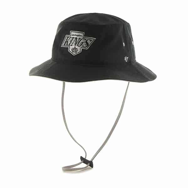 Los Angeles Kings Kirby Bucket Black 47 Brand Hat