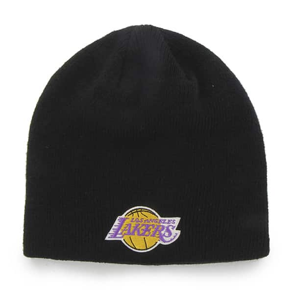 Los Angeles Lakers Beanie Black 47 Brand Hat - Detroit Game Gear 628f575fef8