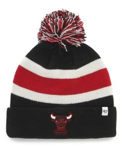 Chicago Bulls Breakaway Cuff Knit Black 47 Brand Hat