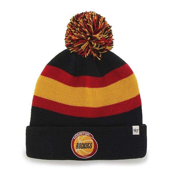 Houston Rockets Breakaway Cuff Knit Black 47 Brand Hat