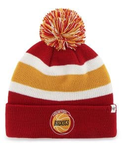 Houston Rockets Breakaway Cuff Knit Red 47 Brand Hat
