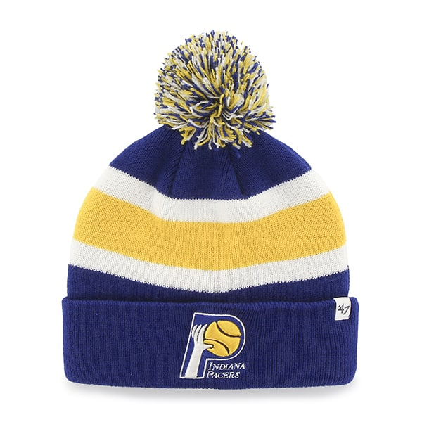 Indiana Pacers Breakaway Cuff Knit Royal 47 Brand Hat