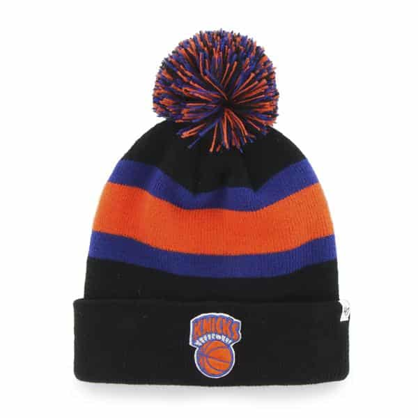 New York Knicks Breakaway Cuff Knit Black 47 Brand Hat