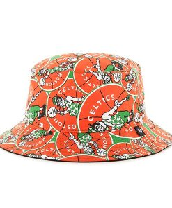 Boston Celtics Bravado Seven Bucket White 47 Brand Hat