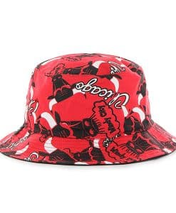 Chicago Bulls Bravado Seven Bucket White 47 Brand Hat