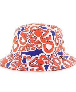 Cleveland Cavaliers Bravado Seven Bucket White 47 Brand Hat