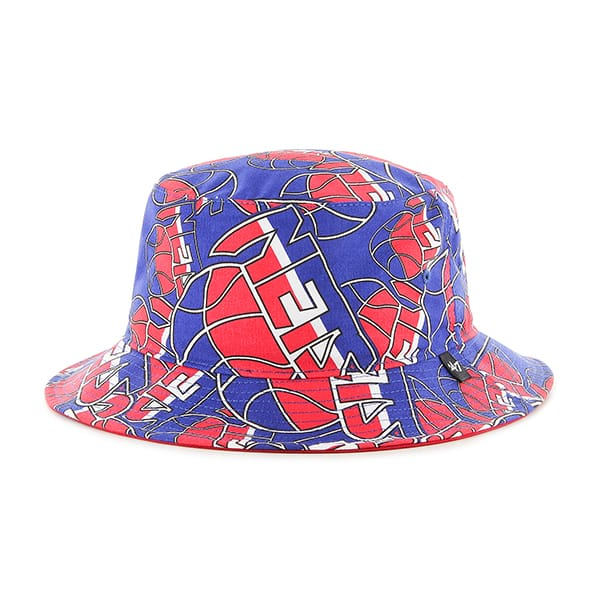 Brooklyn Nets Bravado Seven Bucket White 47 Brand Hat