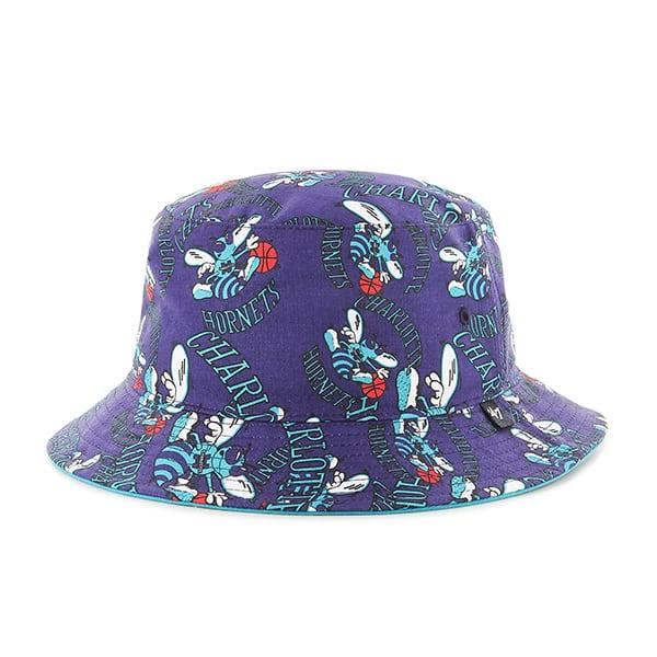 New Orleans Pelicans Bravado Seven Bucket White 47 Brand Hat