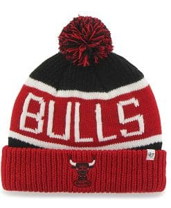 Chicago Bulls Calgary Cuff Knit Black 47 Brand Hat