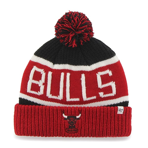 Chicago Bulls Calgary Cuff Knit Black 47 Brand Hat