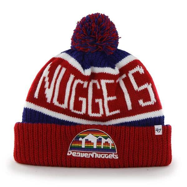Denver Nuggets Calgary Cuff Knit Royal 47 Brand Hat