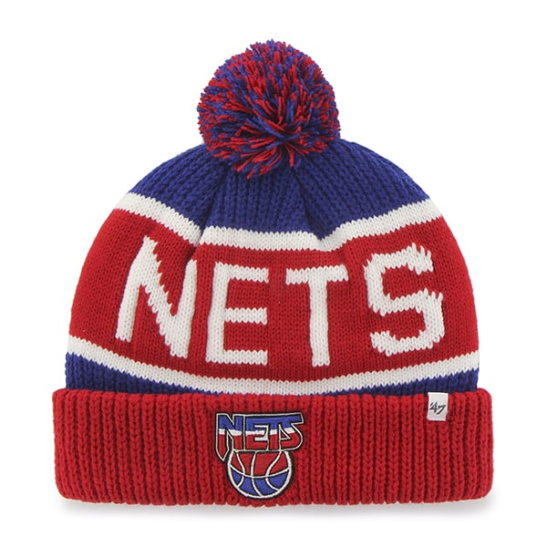 Brooklyn Nets Calgary Cuff Knit Royal 47 Brand Hat