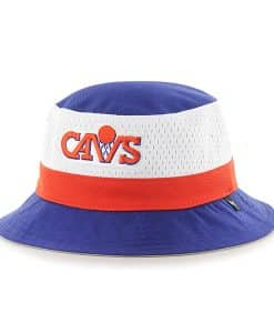 Cleveland Cavaliers Double Line Bucket Royal 47 Brand Hat