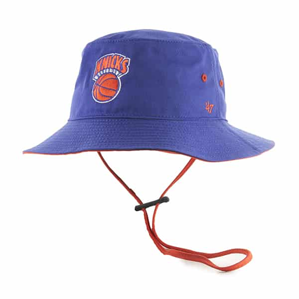 New York Knicks Kirby Bucket Royal 47 Brand Hat