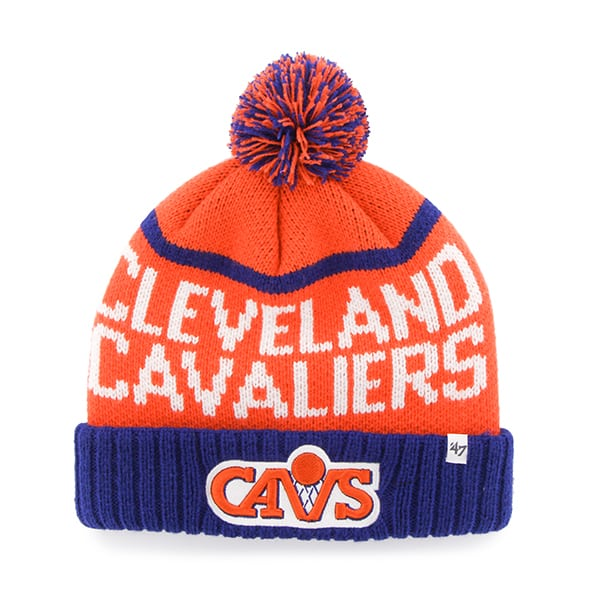 Cleveland Cavaliers Linesman Cuff Knit Orange 47 Brand Hat