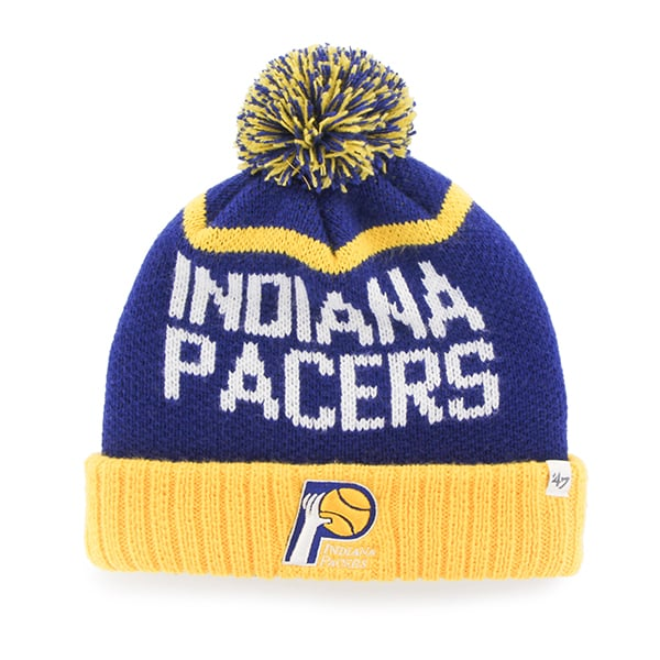 Indiana Pacers Linesman Cuff Knit Royal 47 Brand Hat