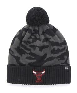 Chicago Bulls M Twenty Nine Cuff Knit Charcoal 47 Brand Hat