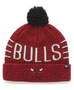Chicago Bulls Mezzo Cuff Knit Red 47 Brand Hat