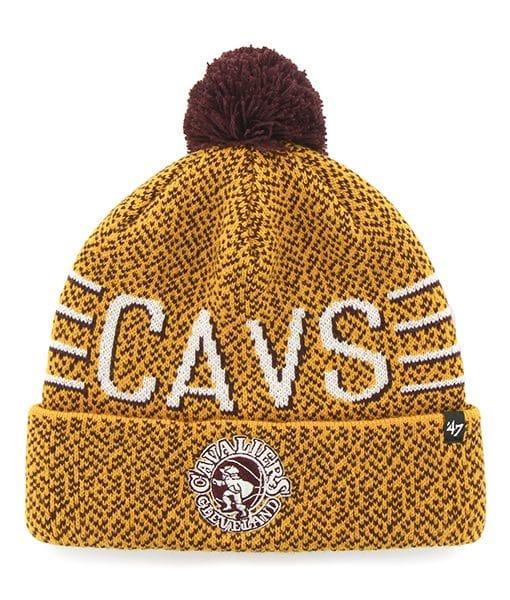 Cleveland Cavaliers Mezzo Cuff Knit Gold 47 Brand Hat