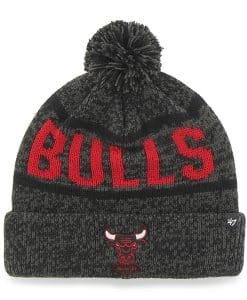 Chicago Bulls Northmont Cuff Knit Charcoal 47 Brand Hat