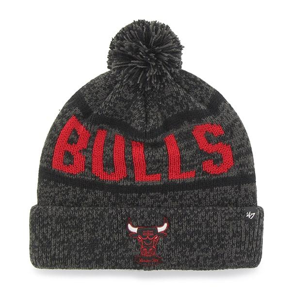 Chicago Bulls Northmont Cuff Knit Charcoal 47 Brand Hat