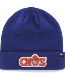 Cleveland Cavaliers Recluse Cuff Knit Royal 47 Brand Hat