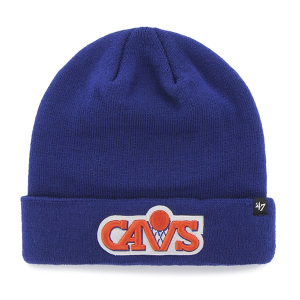 Cleveland Cavaliers Recluse Cuff Knit Royal 47 Brand Hat ...