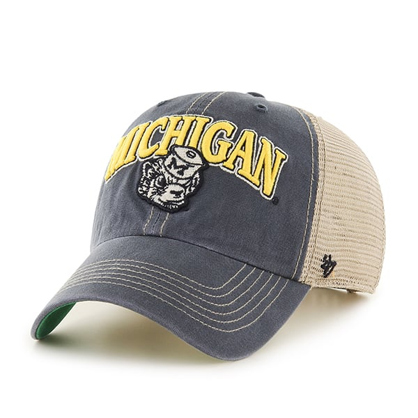 Michigan Wolverines 47 Brand Tuscaloosa Vintage Clean Up Adjustable Hat