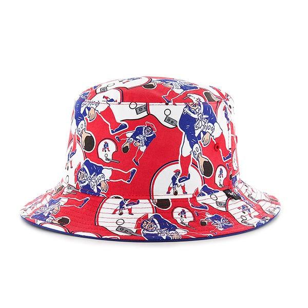New England Patriots 47 Brand Bravado Classic Bucket Hat
