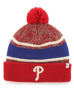 Philadelphia Phillies Fairfax Cuff Knit Red 47 Brand Hat