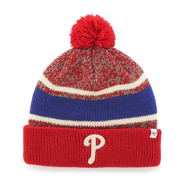 Philadelphia Phillies Fairfax Cuff Knit Red 47 Brand Hat