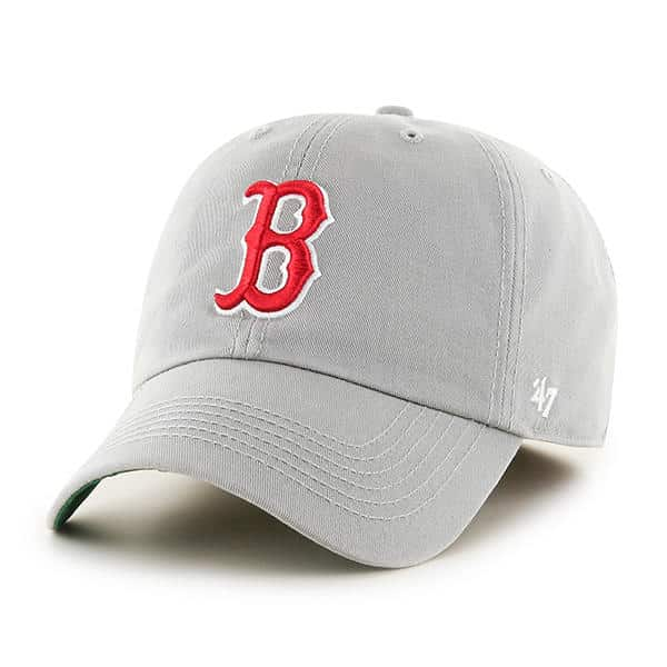 08a15806f98de Boston Red Sox 47 Brand Gray Franchise Fitted Hat - Detroit Game Gear