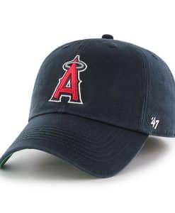 Los Angeles Angels 47 Brand Navy Franchise Fitted Hat