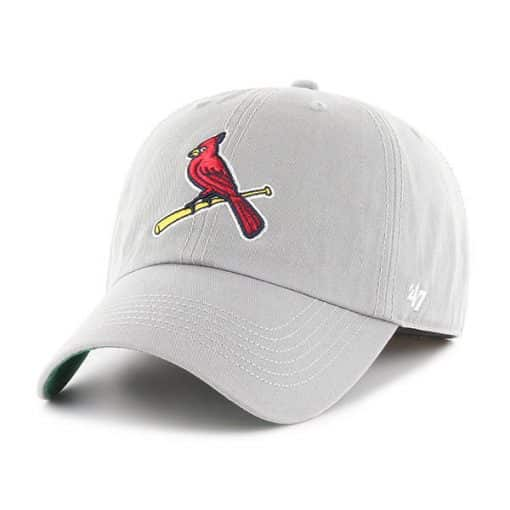 St. Louis Cardinals SMALL 47 Brand Gray Franchise Fitted Hat