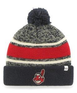Cleveland Indians 47 Brand Navy Fairfax Cuff Knit Hat