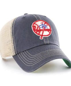New York Yankees 47 Brand Trawler Vintage Navy Clean Up Adjustable Hat