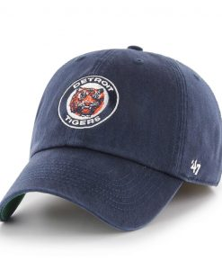 Detroit Tigers 47 Brand Navy Classic Franchise Fitted Hat