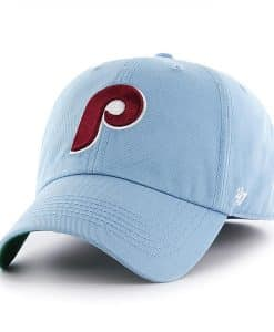 ceb0b20e8 Philadelphia Phillies 47 Brand Classic Columbia Blue Franchise Fitted Hat
