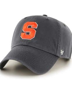 Syracuse Orange 47 Brand Charcoal Clean Up Adjustable Hat