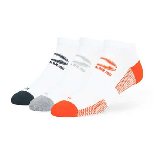 Chicago Bears 47 Brand White Brink Low Cut 3 Pack Socks