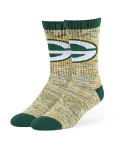 Green Bay Packers 47 Brand Dark Green Leroy Sport Crew Socks