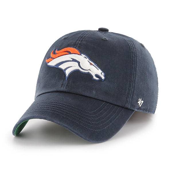 Denver Broncos 47 Brand Navy Franchise Fitted Hat