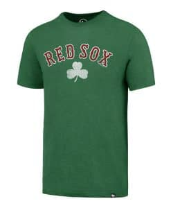 Boston Red Sox Men's 47 Brand Shamrock Green T-Shirt Tee
