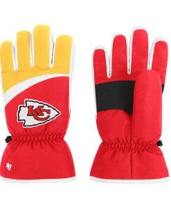Kansas City Chiefs 47 Brand Red Method Gloves