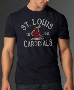 St. Louis Cardinals Scrum T-Shirt Mens
