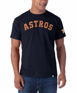 Houston Astros Fieldhouse T-Shirt Mens Fall Navy 47 Brand