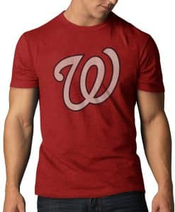 Washington Nationals Scrum T-Shirt Mens Rescue Red 47 Brand