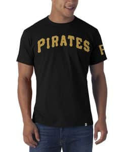 Pittsburgh Pirates Fieldhouse T-Shirt Mens Jet Black 47 Brand