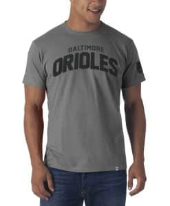 Baltimore Orioles Allbright Fieldhouse T-Shirt Mens Wolf Grey 47 Brand