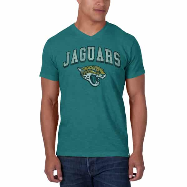 Jacksonville Jaguars Jv Scrum Mens Shark'S Teal 47 Brand